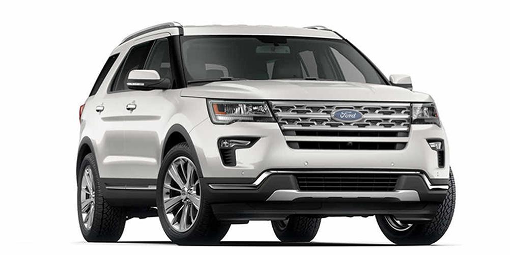 Ford New Explorer 2020