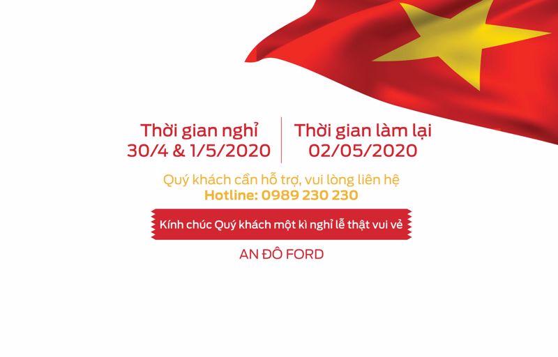"""Thông Báo nghỉ lễ Kỷ niệm ngày Giải phóng Miền Nam 30/4″ và ngày """"Quốc tế Lao Động 01/05"""