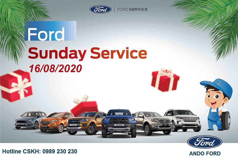 NGÀY CHỦ NHẬT DỊCH VỤ Ở FORD ANDO- FORD SUNDAY SERVICE
